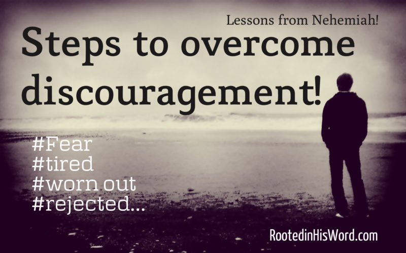 5 things that cause discouragement and 5 steps to overcome it!